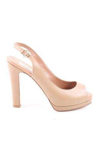 Valentino High Heels wollweiß Casual-Look