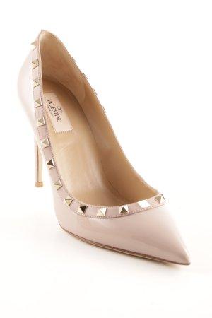 "Valentino High Heels ""Rockstud Pump Vitello"" altrosa"
