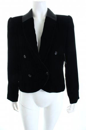 Valentino Kurz-Blazer schwarz Eleganz-Look
