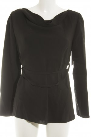 Valentino Langarm-Bluse schwarz Elegant