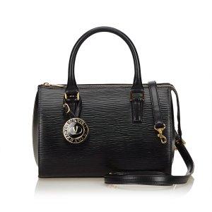 Valentino Leather Boston Bag