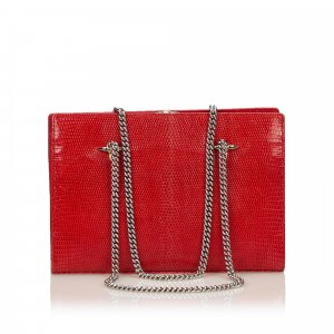 Valentino Leather Chain Bag