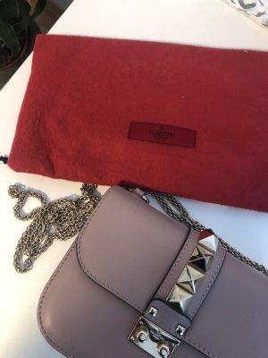 Valentino Lock Bag Small Poudre