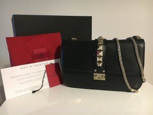 Valentino Lock Medium Black