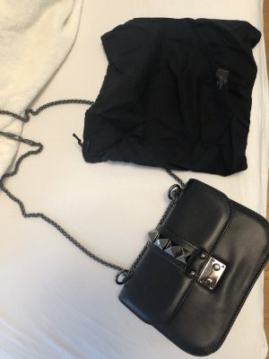 Valentino Lock Noir Small
