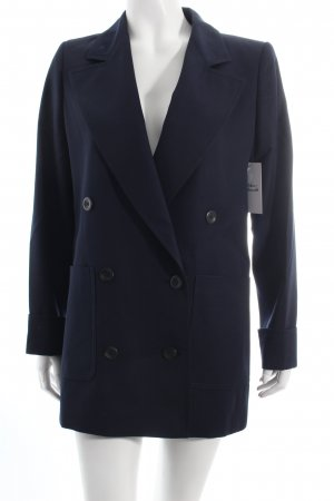 Valentino Long-Blazer dunkelblau Business-Look