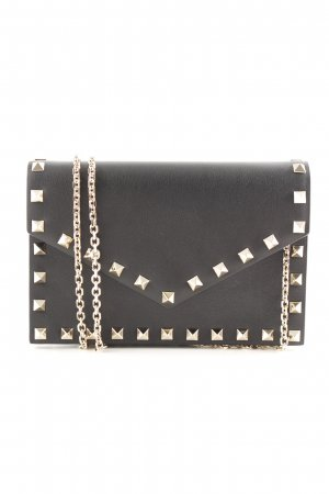 "Valentino Mini Bag ""Rockstud Envelope Shoulder Bag Leather Black"" black"