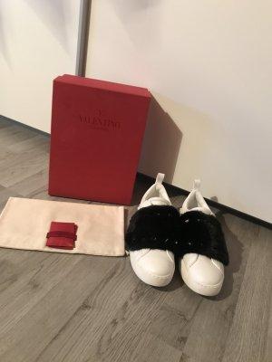 Valentino mink fur sneaker