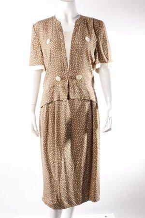 Valentino Miss V Vintage-Kostüm gepunktet