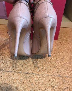 Valentino Pumps Damen Rockstud Peep-Toe Ankle Boots Gr 41
