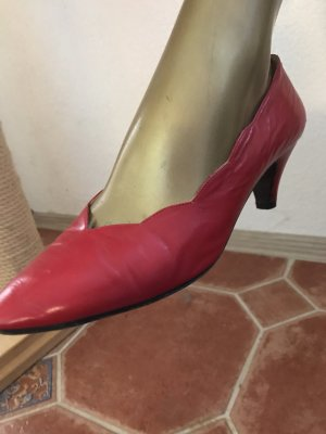 Valentino Pumps Gr 38, rot, KP 590€