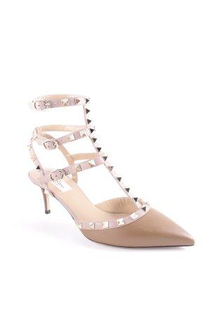 """Valentino Riemchen-Sandaletten """"Rockstud Pump Ankle Strap Hazel Powder"""""""