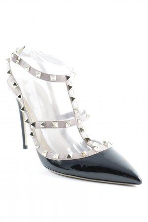 Valentino Strapped pumps multicolored wet-look