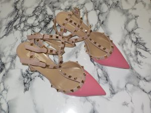C. Valentino High-Heeled Sandals nude-pink