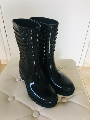 Valentino Wellies black synthetic material