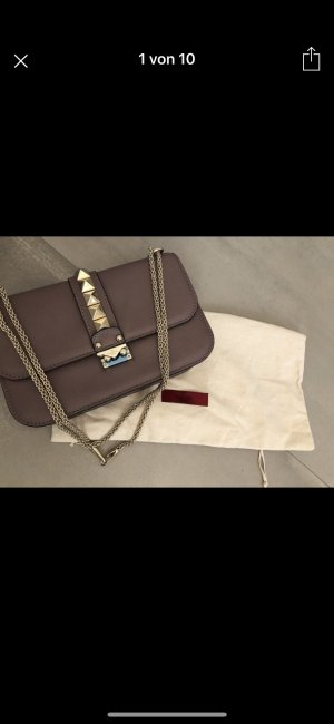 Valentino Rockstud Lock Crossbody Bag Medium