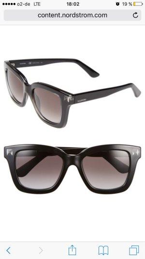 Valentino Rockstud Rectangle Sunglasses