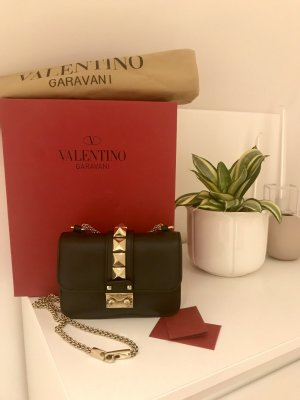 Valentino Rockstud Small Schwarz