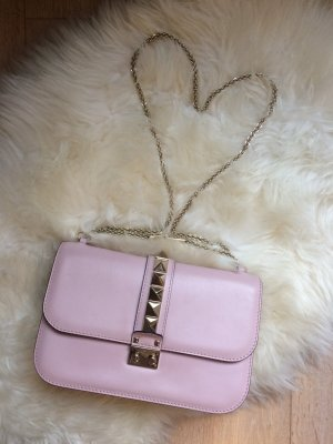 Valentino Rockstud Tasche Medium Rosa