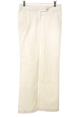 Valentino Roma Pantalón de pana blanco puro look casual