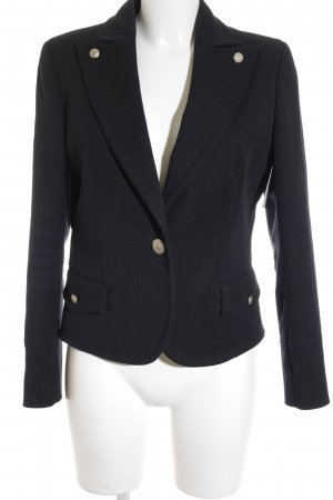 Valentino Roma Long-Blazer dunkelblau Business-Look