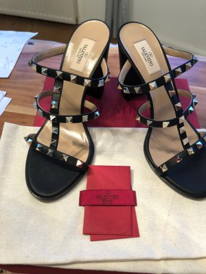 Valentino Sandal Pumps in Schwarz