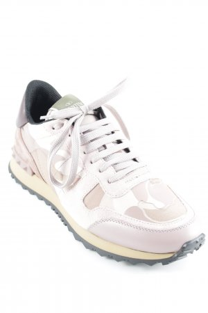 "Valentino Schnürsneaker ""Camouflage Sneakers Pink"""