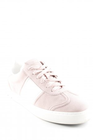 "Valentino Schnürsneaker ""Fly Crew Sneakers Suede Water Rose/Bianco"""
