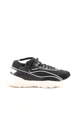 "Valentino Schnürsneaker ""Sound High Sneakers Leather Black"""