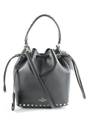 Valentino Schultertasche schwarz schlichter Stil