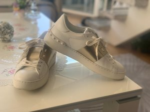 Valentino Lace-Up Sneaker white-gold-colored