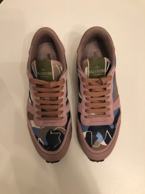 Valentino Lace-Up Sneaker multicolored