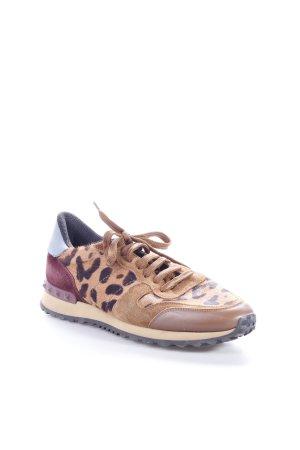 Valentino Sneaker Felloptik braun