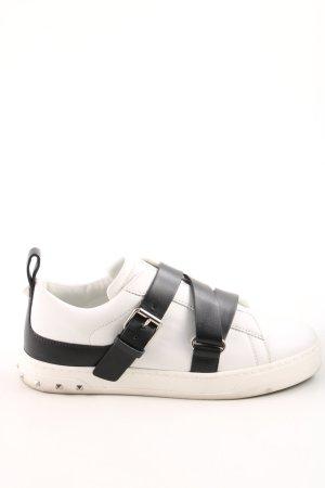 """Valentino Sneaker con strappi """"Trainers V Punk White/Black"""""""