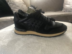 Valentino Lace-Up Sneaker black