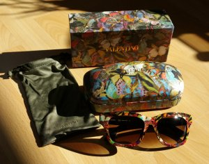 Valentino Sunglasses multicolored synthetic material