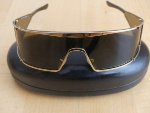 Valentino Glasses black synthetic material