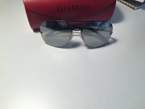 Valentino Sonnenbrille - silber - verspiegelt - pilotenbrille