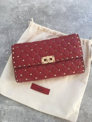 Valentino Spike Bag - Red