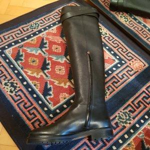 Valentino Jackboots dark brown-brown