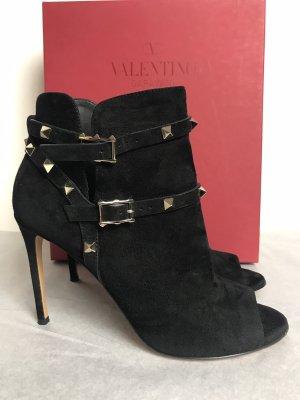 Valentino Stiefeletten schwarz Gr 38,5