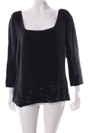 Valentino T-Shirt schwarz schlichter Stil