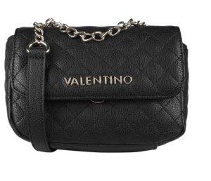 Mario Valentino Borsa clutch nero-argento