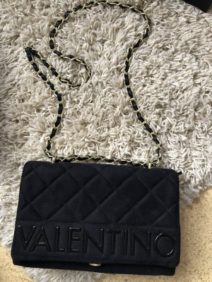 Valentino Tasche neu schwarz Gold