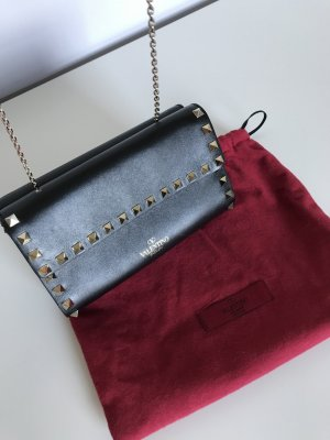 C. Valentino Carry Bag black leather