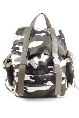 """Valentino Sac à dos de randonnée """"Rockstud Backpack Olive/Multi"""""""