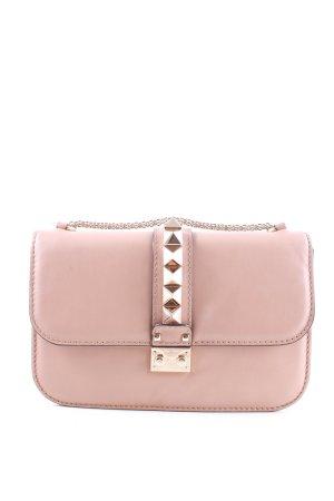 Valentino Umhängetasche pink-goldfarben Elegant