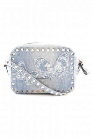 "Valentino Umhängetasche ""Rockstud Camera Crossbody Bag Denim Newstyle"""