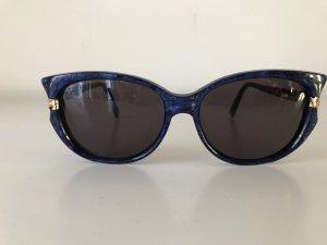 Valentino Vintage Sonnenbrille royalblau