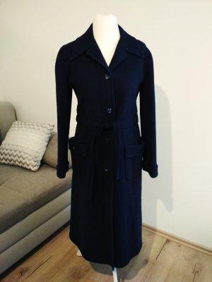 Valentino Wollmantel dunkelblau/marine Größe 8